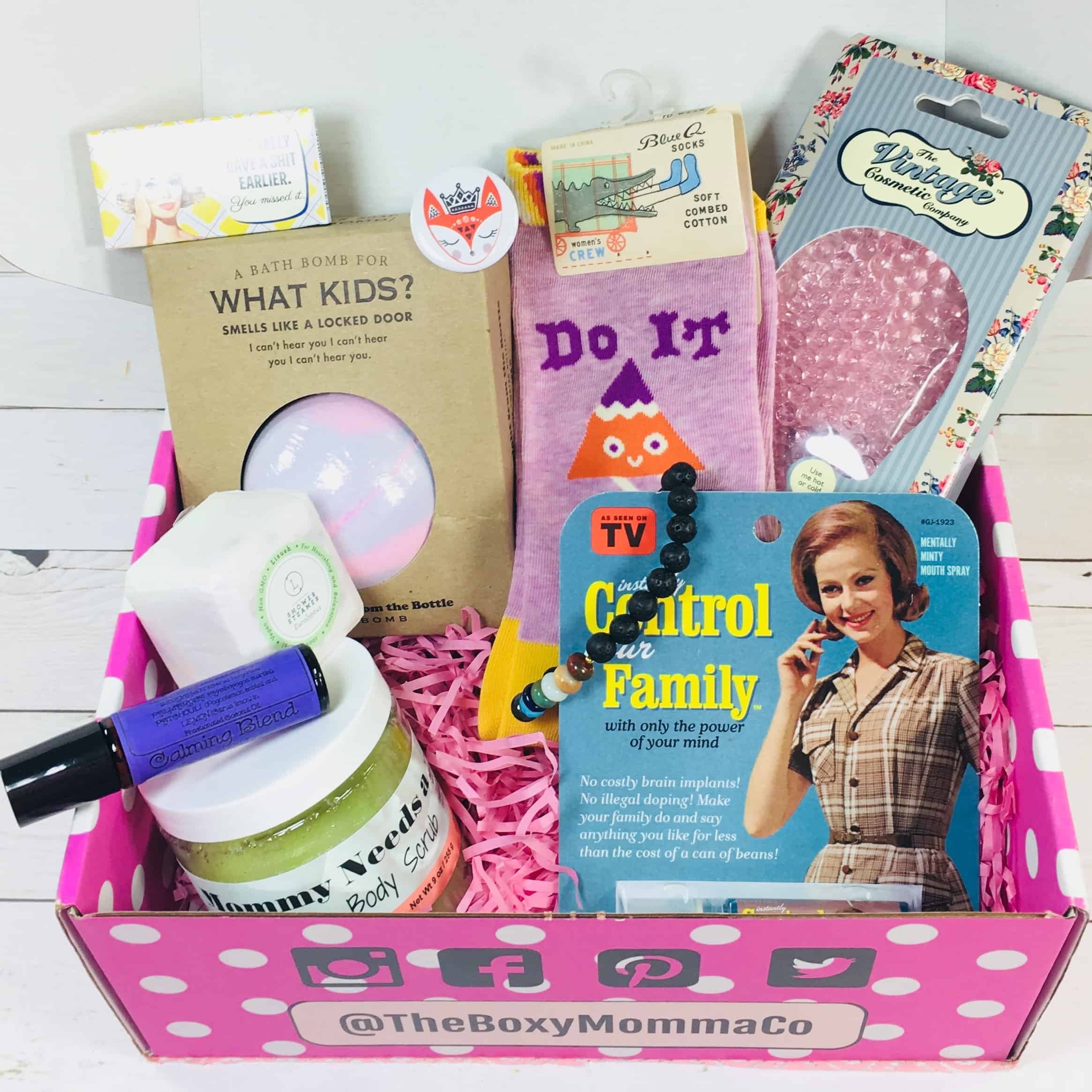 The Boxy Momma Company August 2018 Subscription Box Review + Coupon