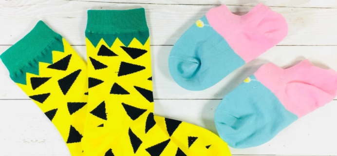 Socks Matter August 2018 Subscription Box Review + Coupon