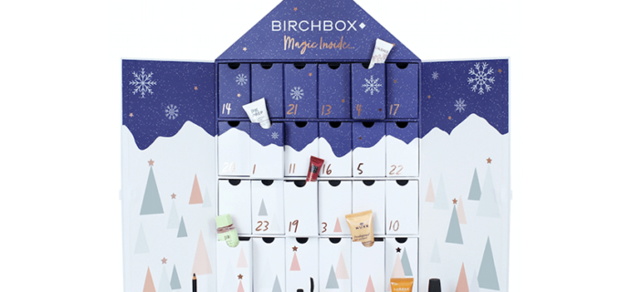 Birchbox UK 2018 Beauty Advent Calendar Coming Soon!