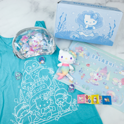 Sanrio Small Gift Crate Summer 2018 Subscription Box Review