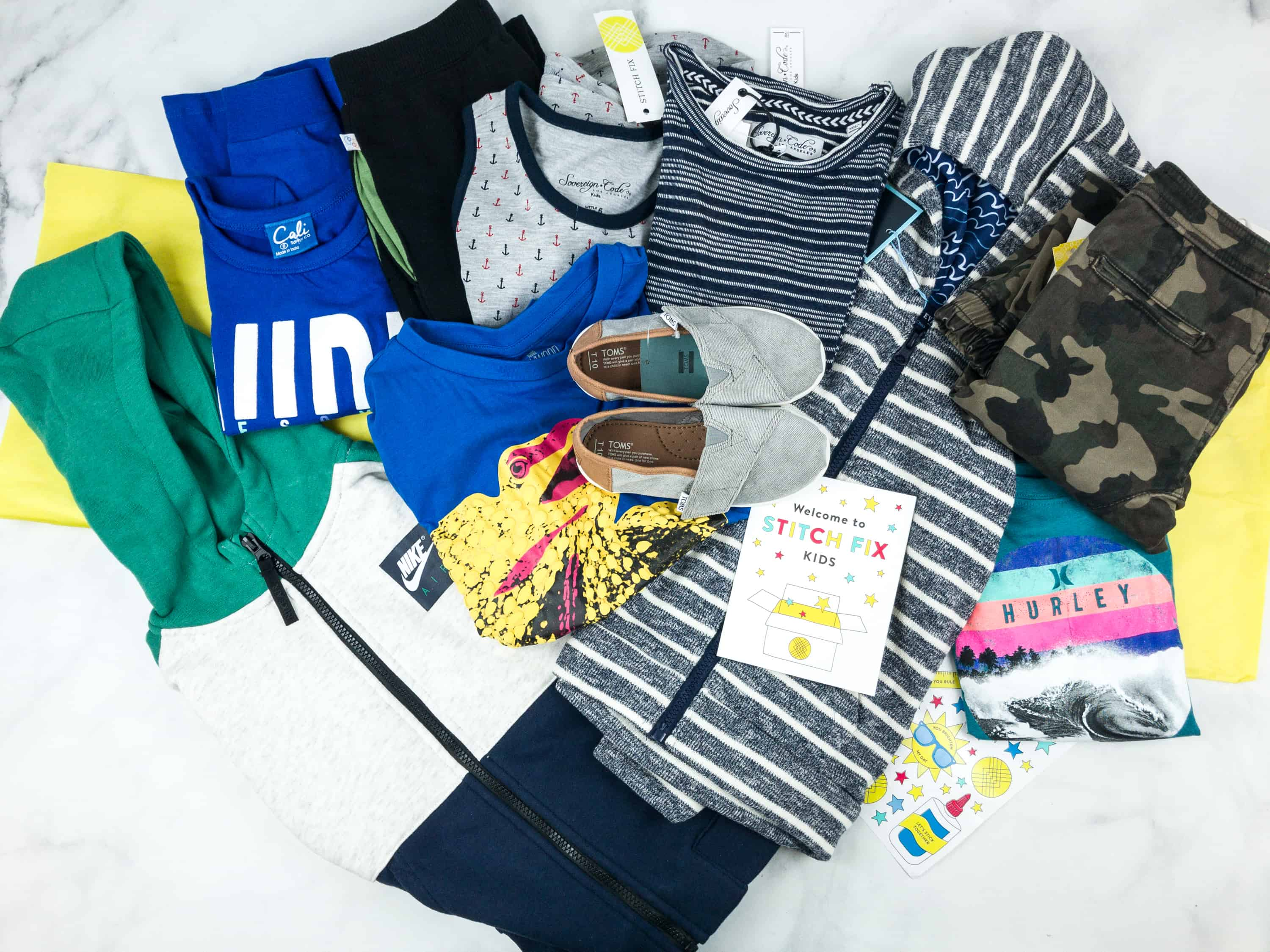 Stitch Fix Kids Review – Little Boys August 2018