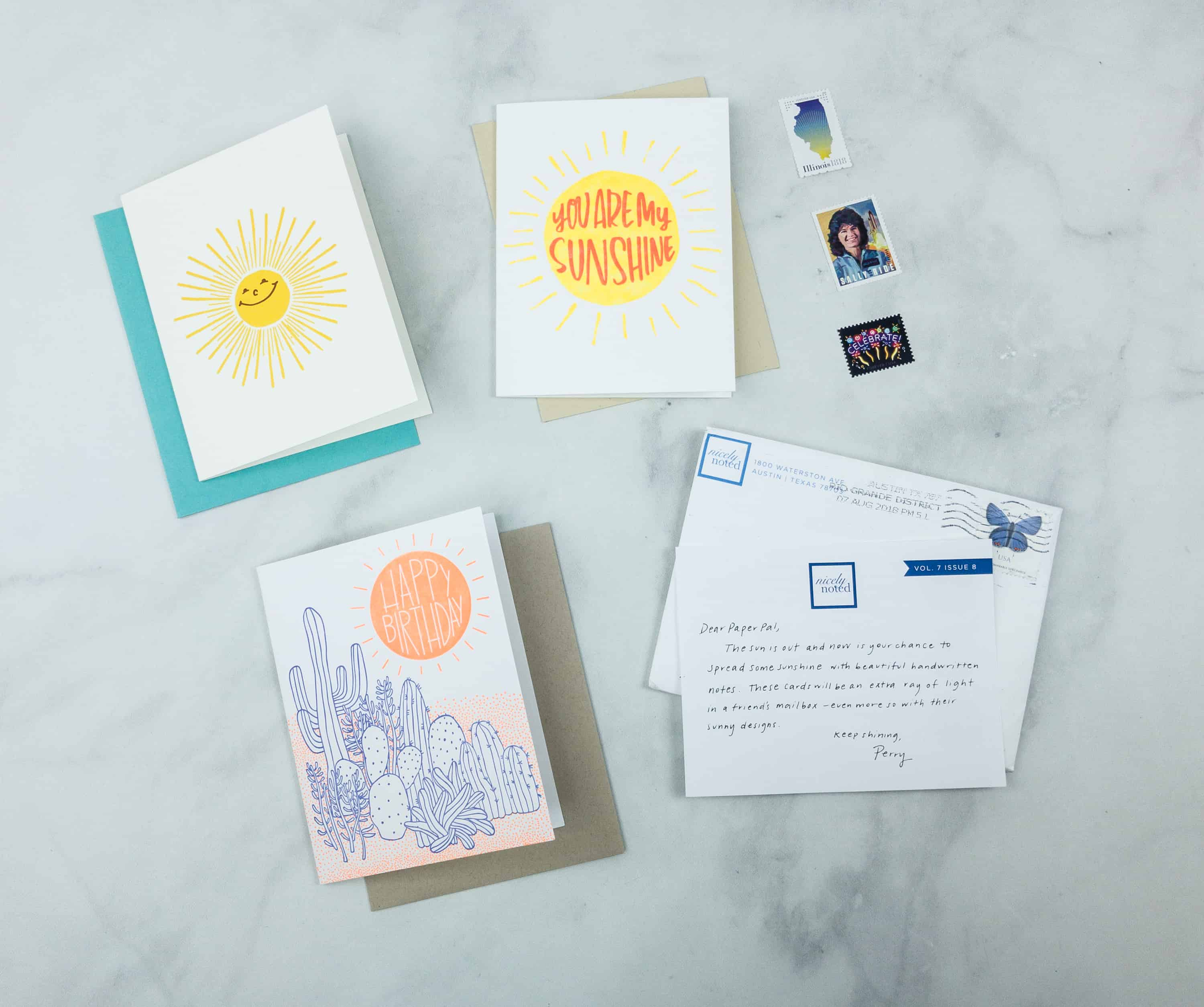Nicely Noted August 2018 Subscription Box Review + Coupon!