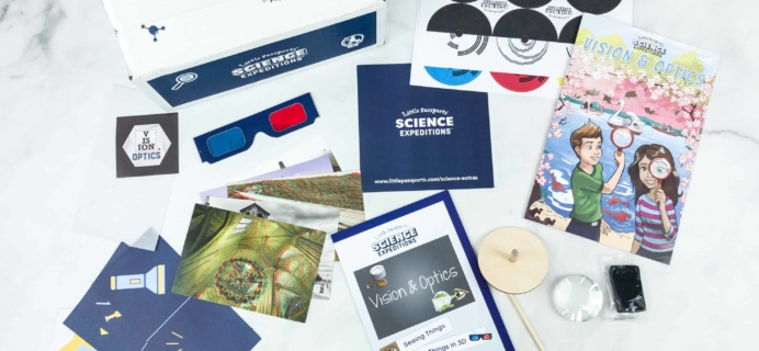 Little Passports Science Expeditions Subscription Box Review – OPTICS