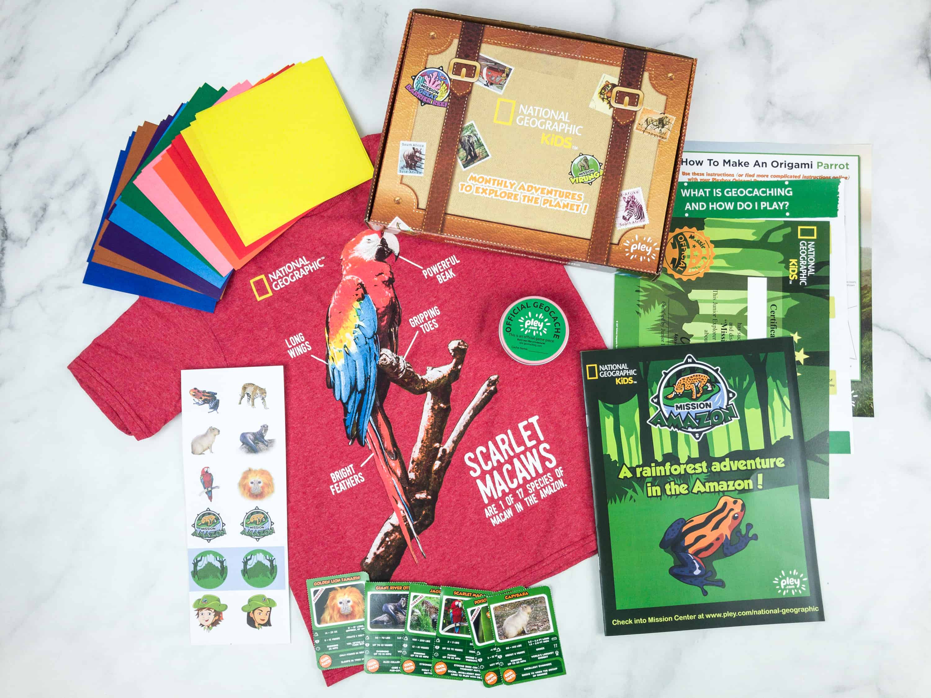 NatGeo Kids Pleybox August 2018 Subscription Box Review + Coupon – Amazon!