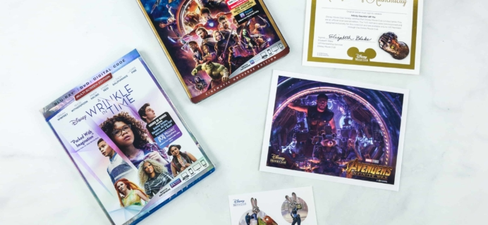 Disney Movie Club July & August 2018 Review + Coupon!