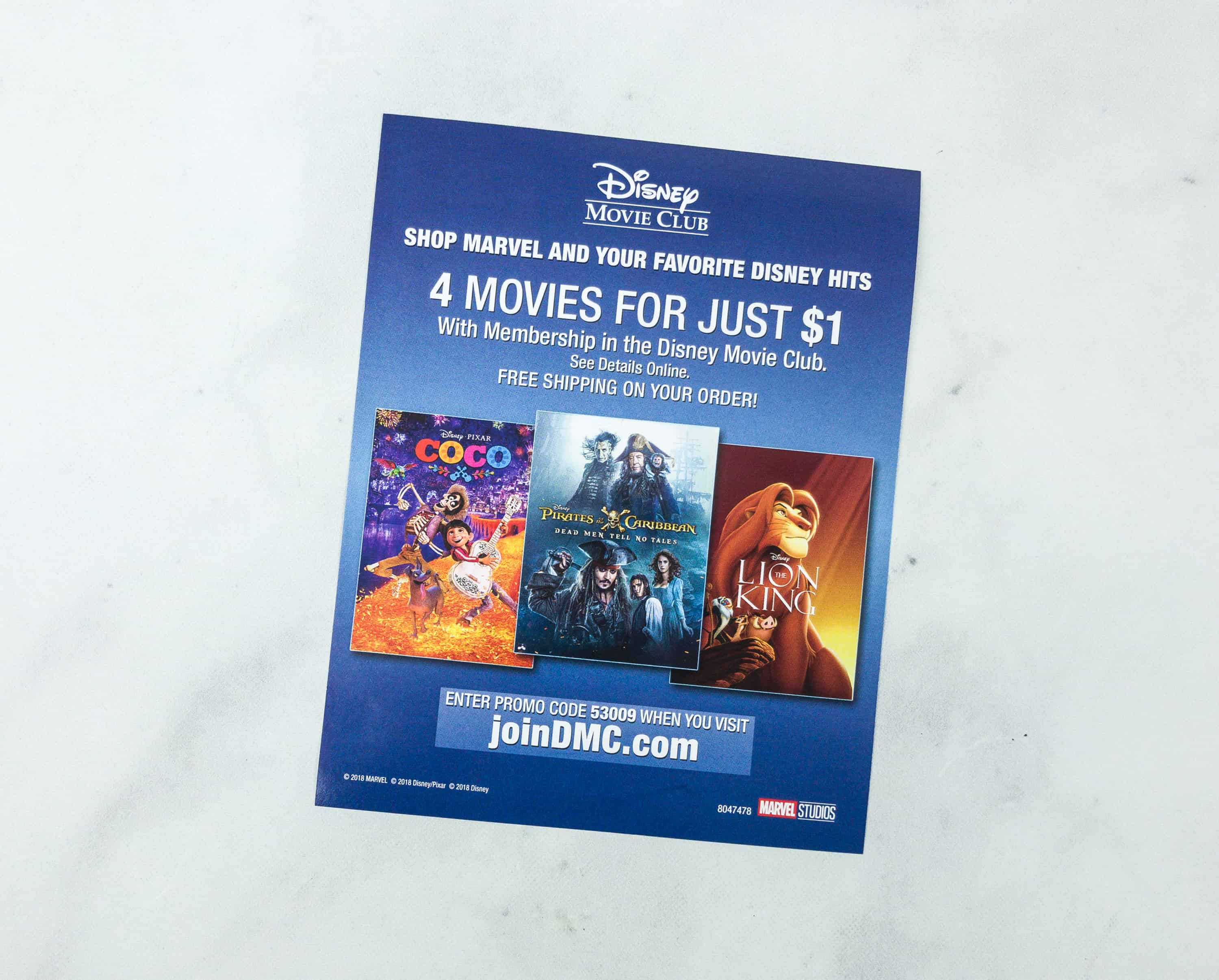 Disney Movie Club July & August 2018 Review + Coupon