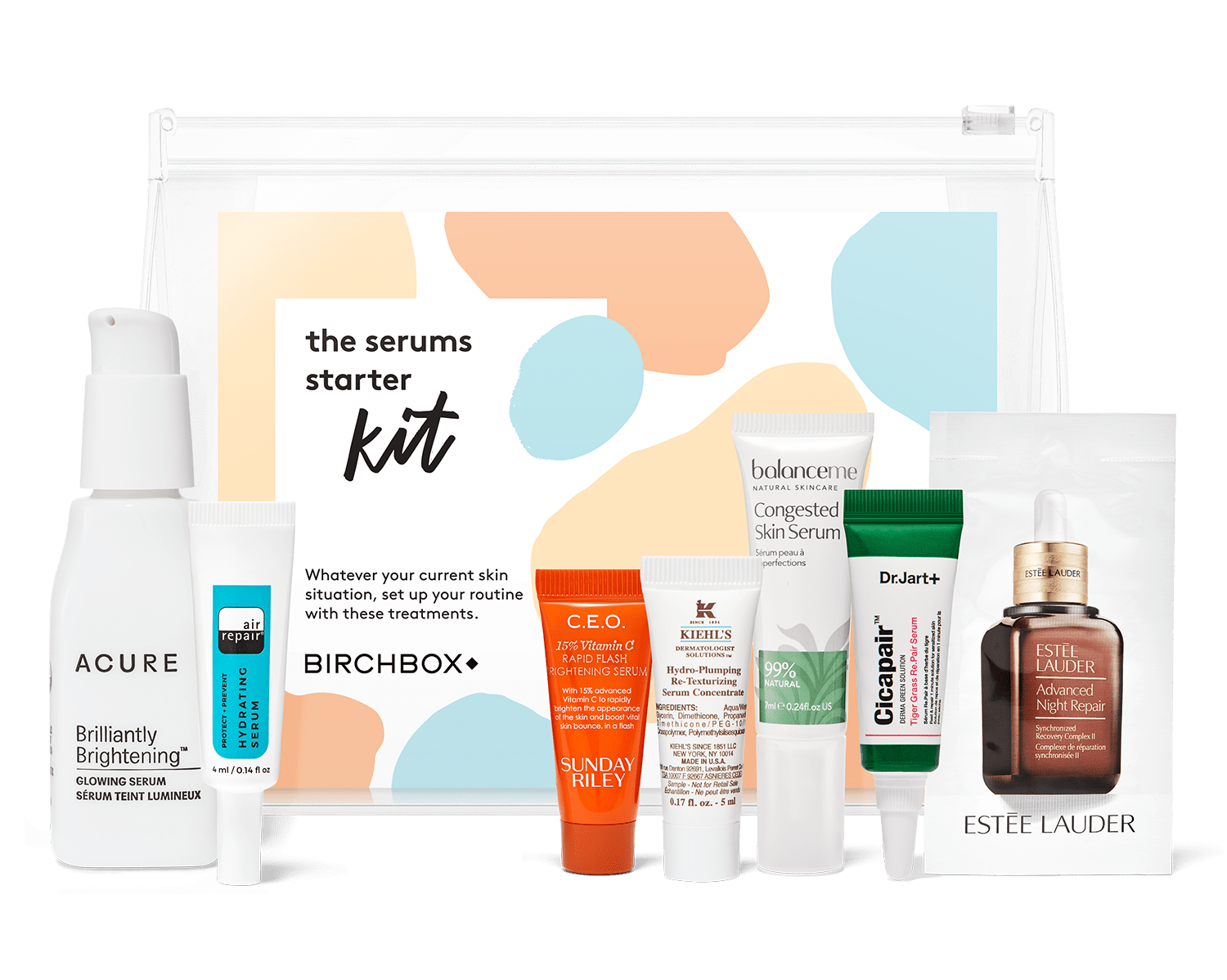 New Birchbox Kit + Free Gift Coupons – The Serums Starter Kit!