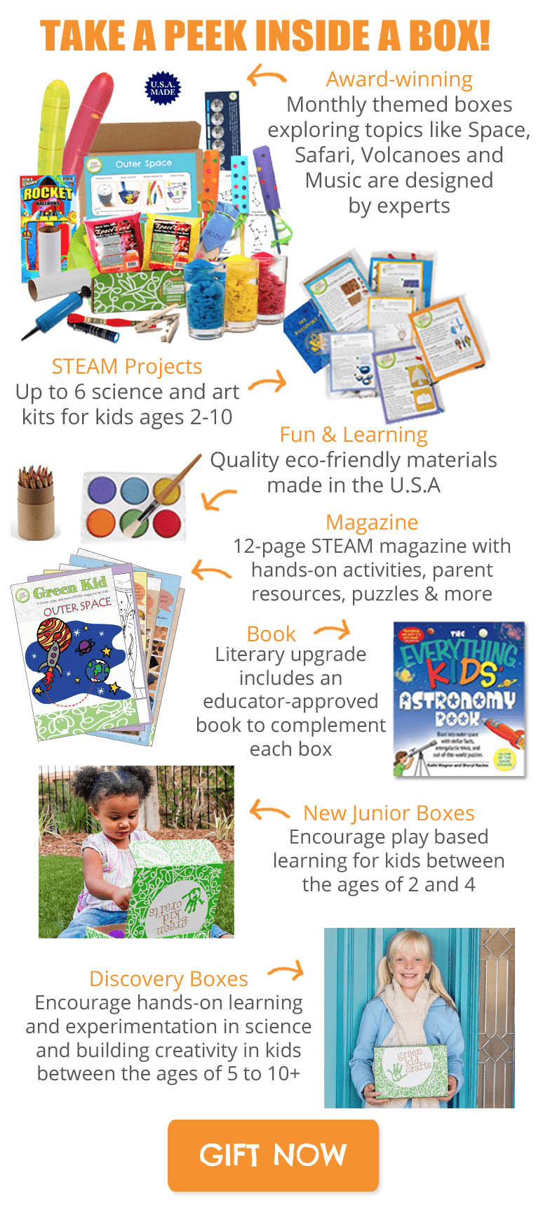Green Kid Crafts Boxing Week Sale: Get 50% Off On Your First Discovery Box!