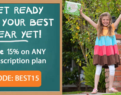 Green Kid Crafts Back to School Sale: Get 15% Off Subscriptions!