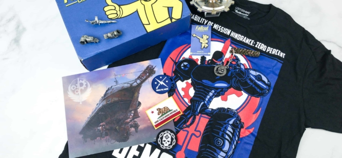 Loot Crate Fallout Crate June 2018 Review + Coupon