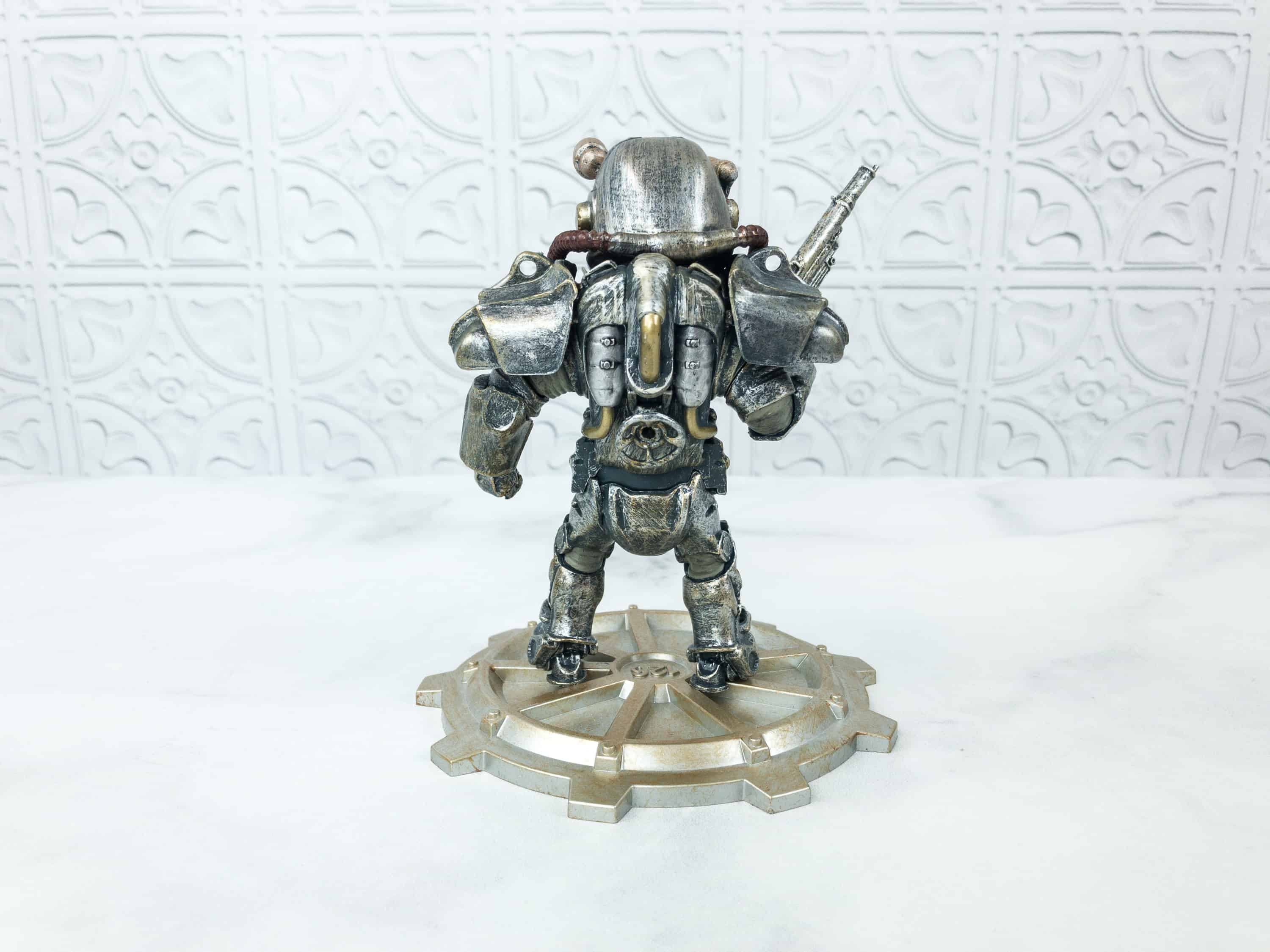 Fallout Crate Power Armor Build-a-figure 4 de 6-Loot Crate