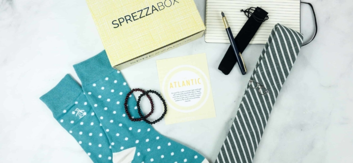SprezzaBox August 2018 Subscription Box Review + Coupon