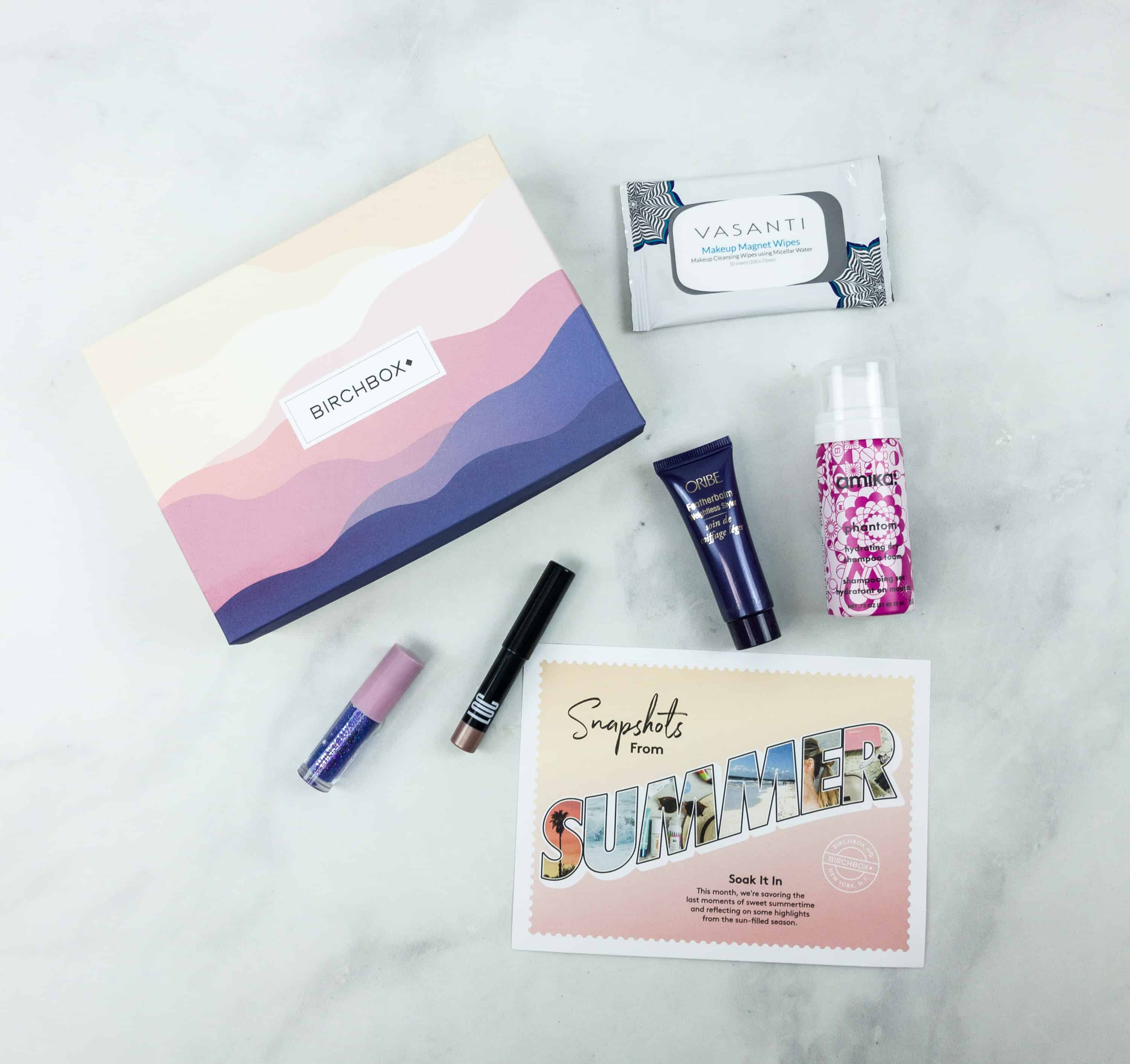 August 2018 Birchbox Subscription Box Review & Coupon