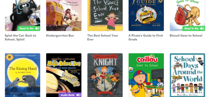 Epic! Kids Books – Back To School Reading Book Collection List Added + Free Month Coupon!