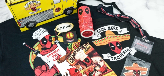 Deadpool Club Merc June 2018 Subscription Box Review + Coupon – Bite Me