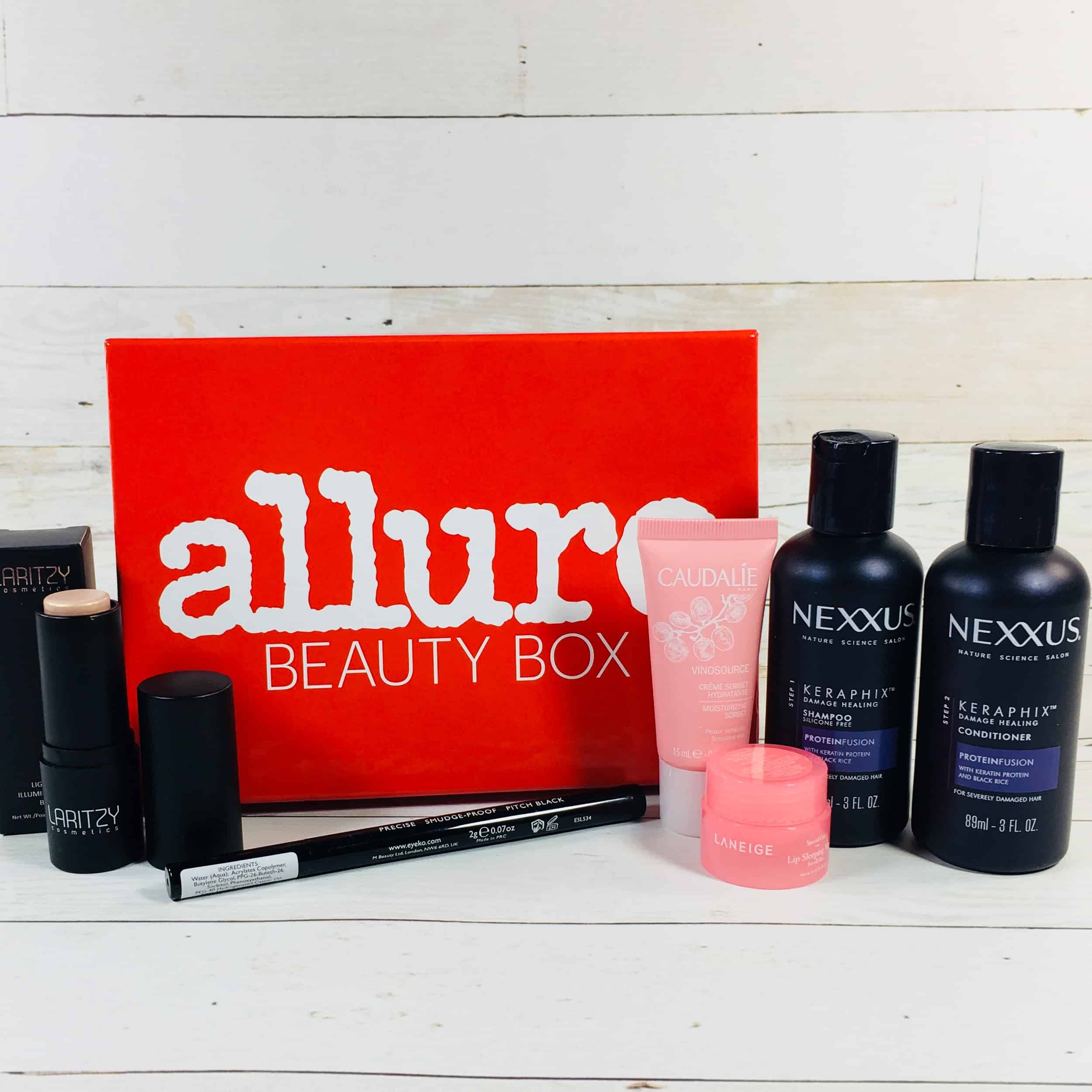 Allure Beauty Box August 2018 Subscription Box Review & Coupon