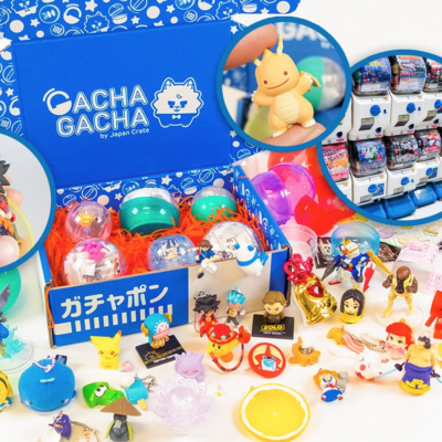 Gacha Gacha Crate October 2018 Full Spoilers