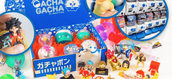 Newest Subscription Boxes: Gacha Gacha Crate from Japan Crate!