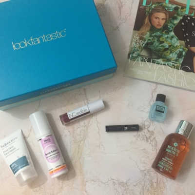 lookfantastic Beauty Box August 2018 Subscription Box Review