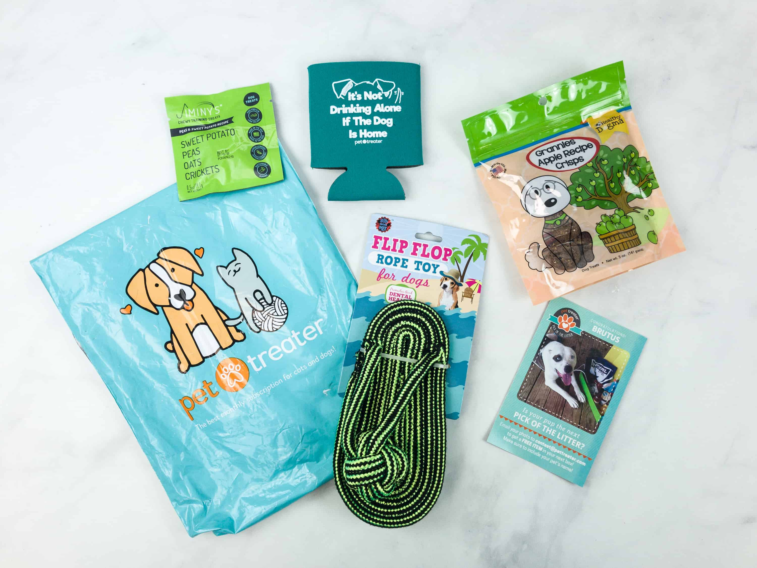 Pet Treater Dog Pack August 2018 Subscription Box Review + 50% Off Coupon!