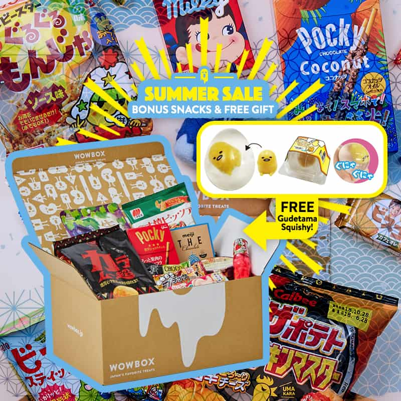 WowBox Summer Sale: Get Up To $99 Off + Free Gudetama Squishy!