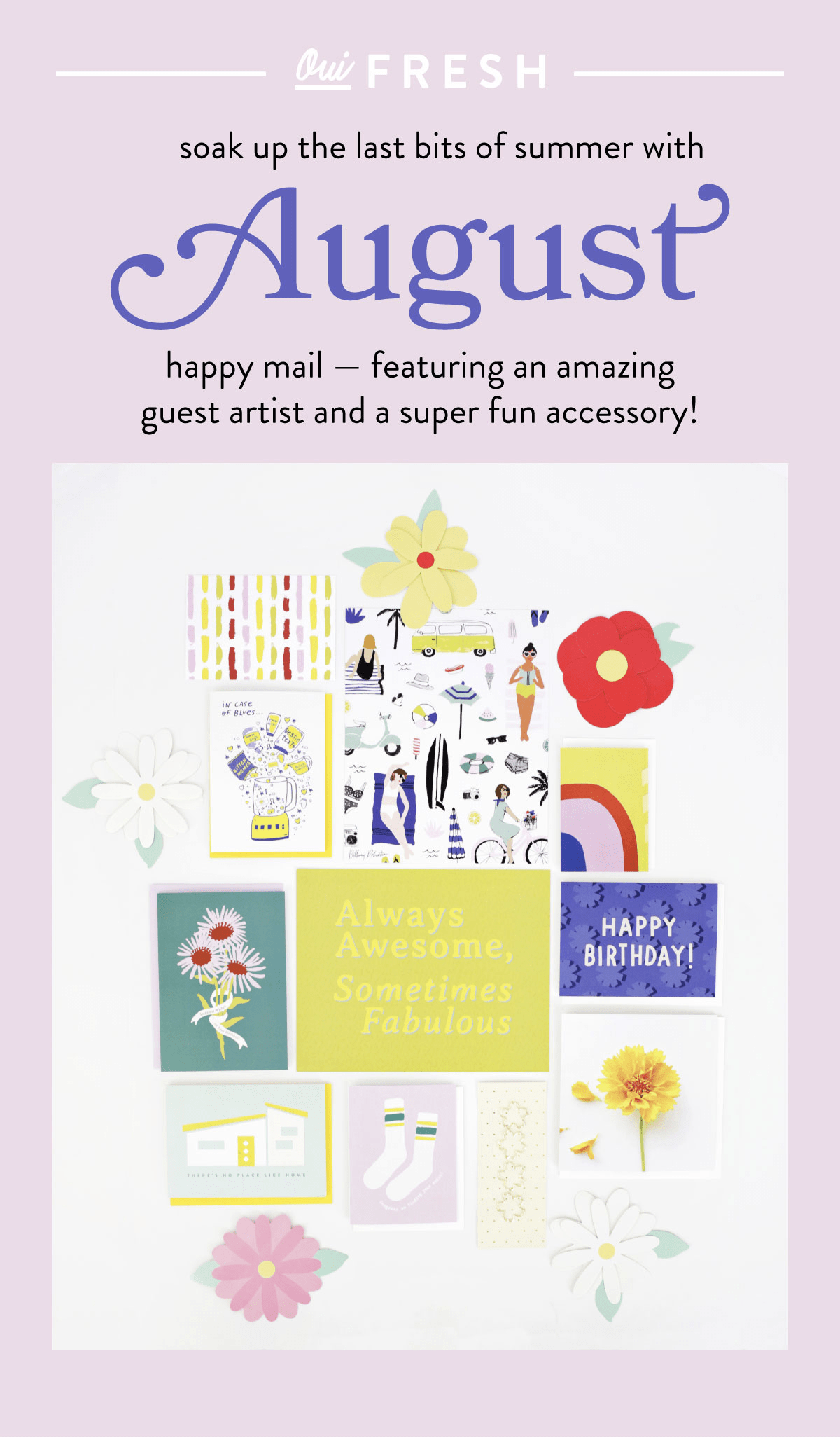Oui Fresh Happy Mail August 2018 Full Spoilers + Subscription Update