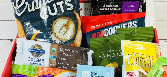 Love With Food August 2018 Deluxe Box Review + Coupon!