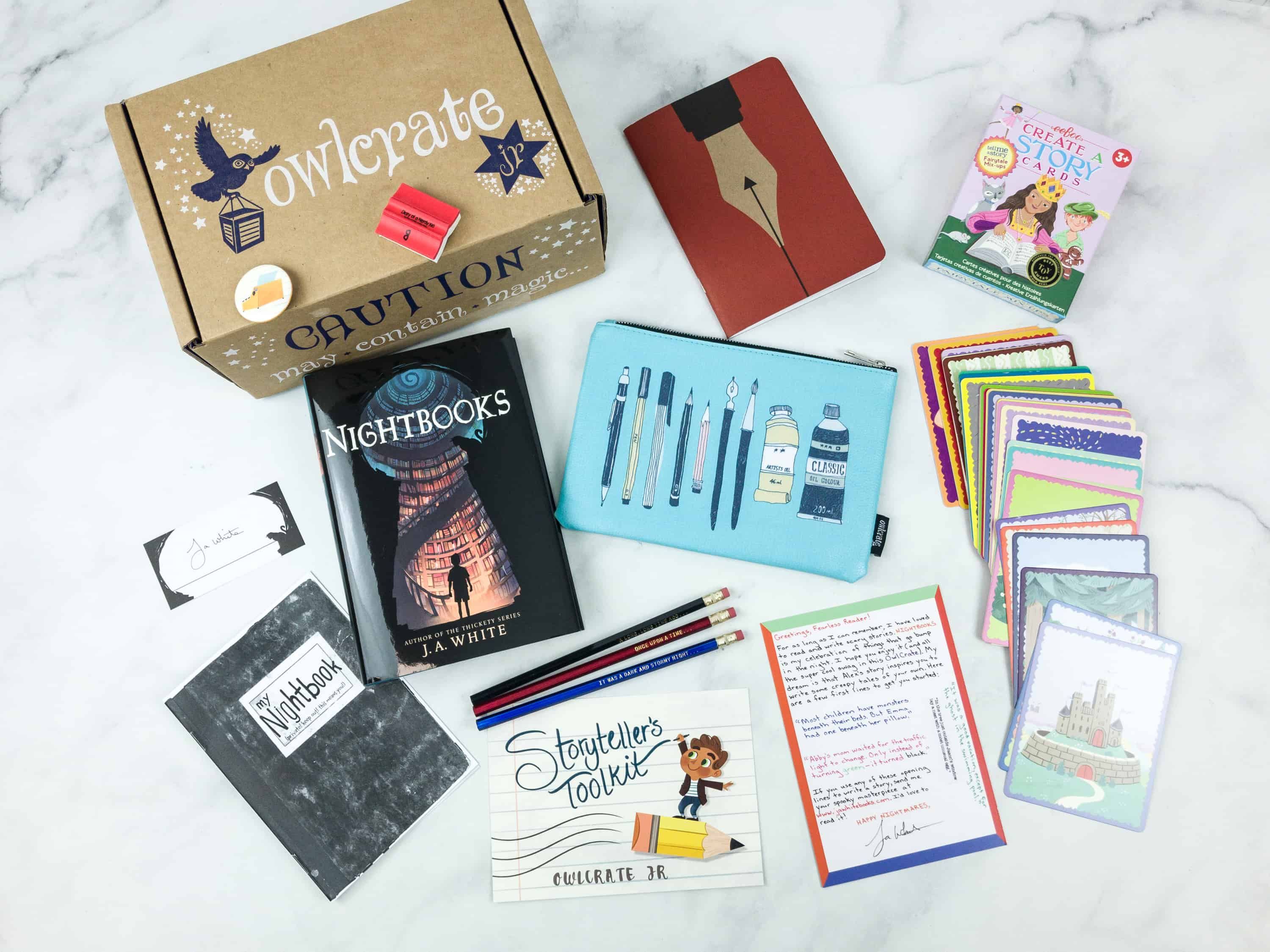 OwlCrate Jr. August 2018 Box Review & Coupon