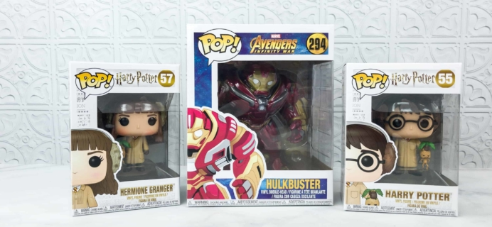 Pop In A Box August 2018 Funko Subscription Box Review & Coupon