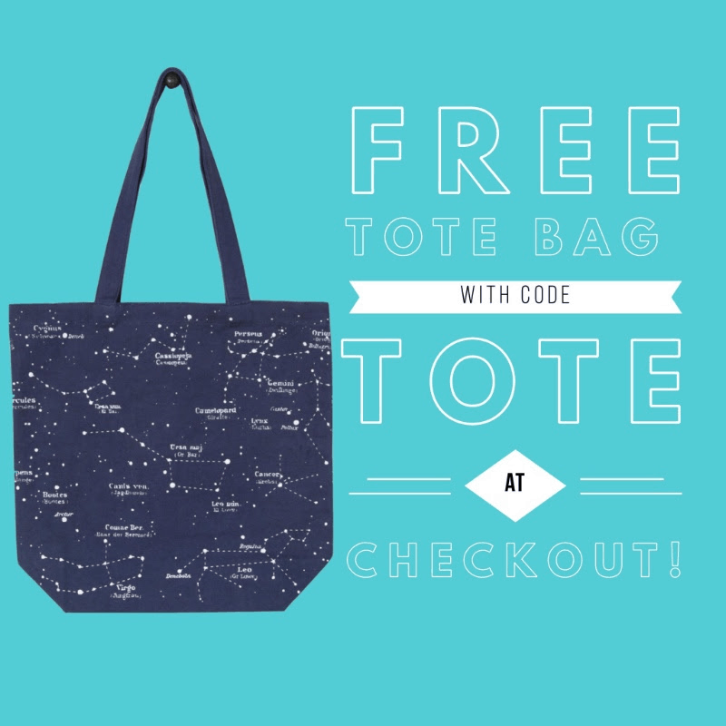 My Zodiac Box Promo: Get Free Constellation Tote Bag!