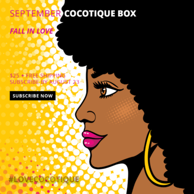 Cocotique September 2018 Spoilers + Coupon!