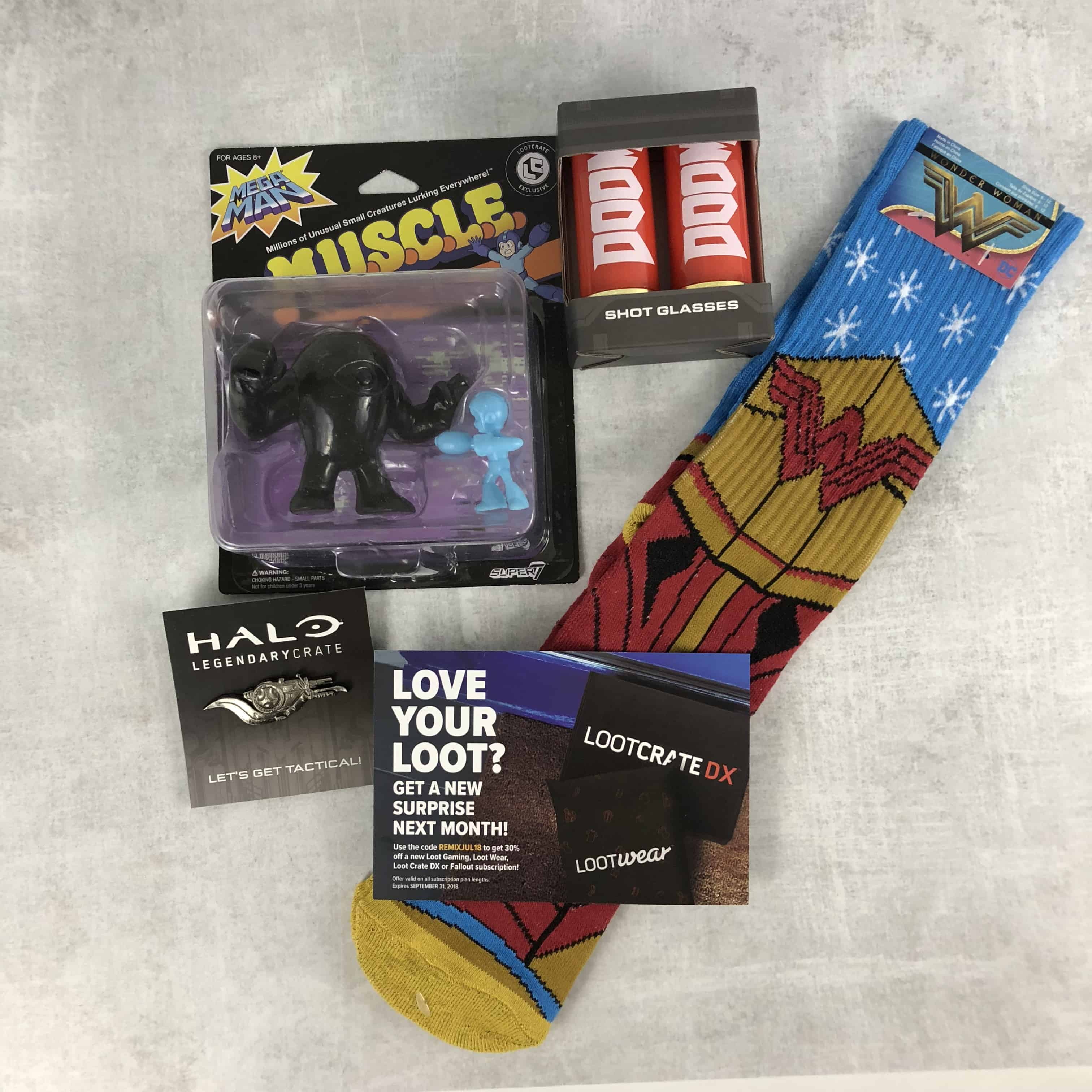 Loot Remix July 2018 Subscription Box Review + Coupon!