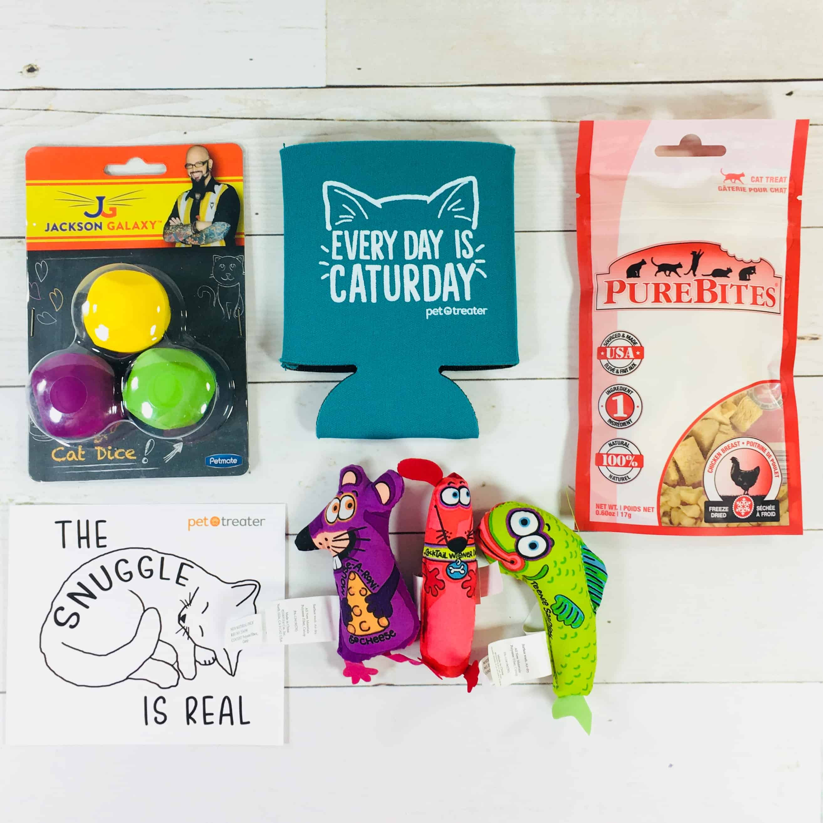 Pet Treater Cat Pack August 2018 Subscription Box Review + Coupon
