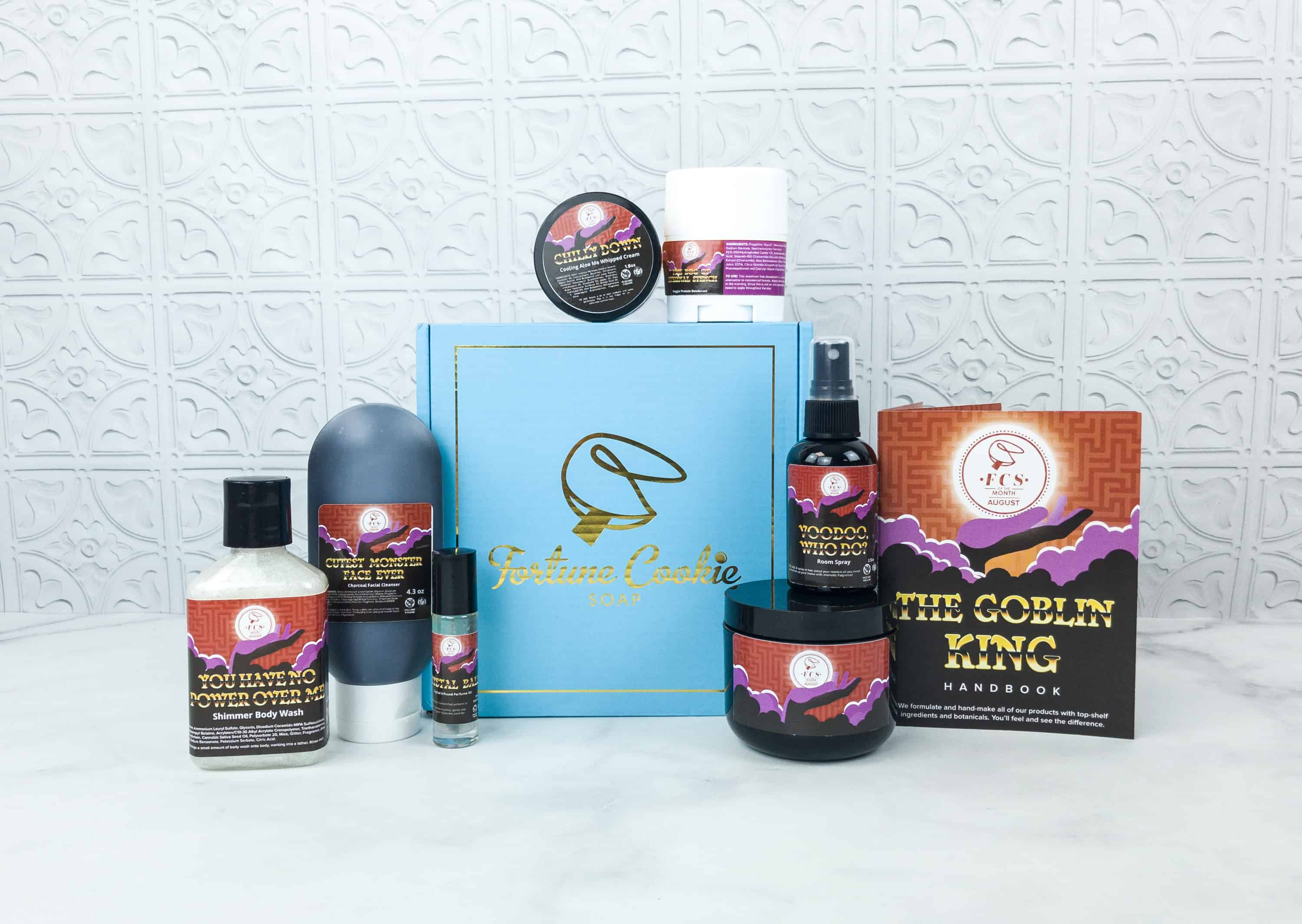 Fortune Cookie Soap FCS of the Month August 2018 Box Review + Coupon!
