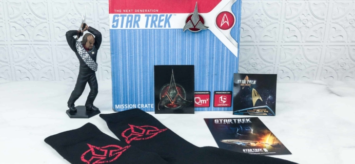 Star Trek: Mission Crate March 2018 Subscription Box Review + Coupon!