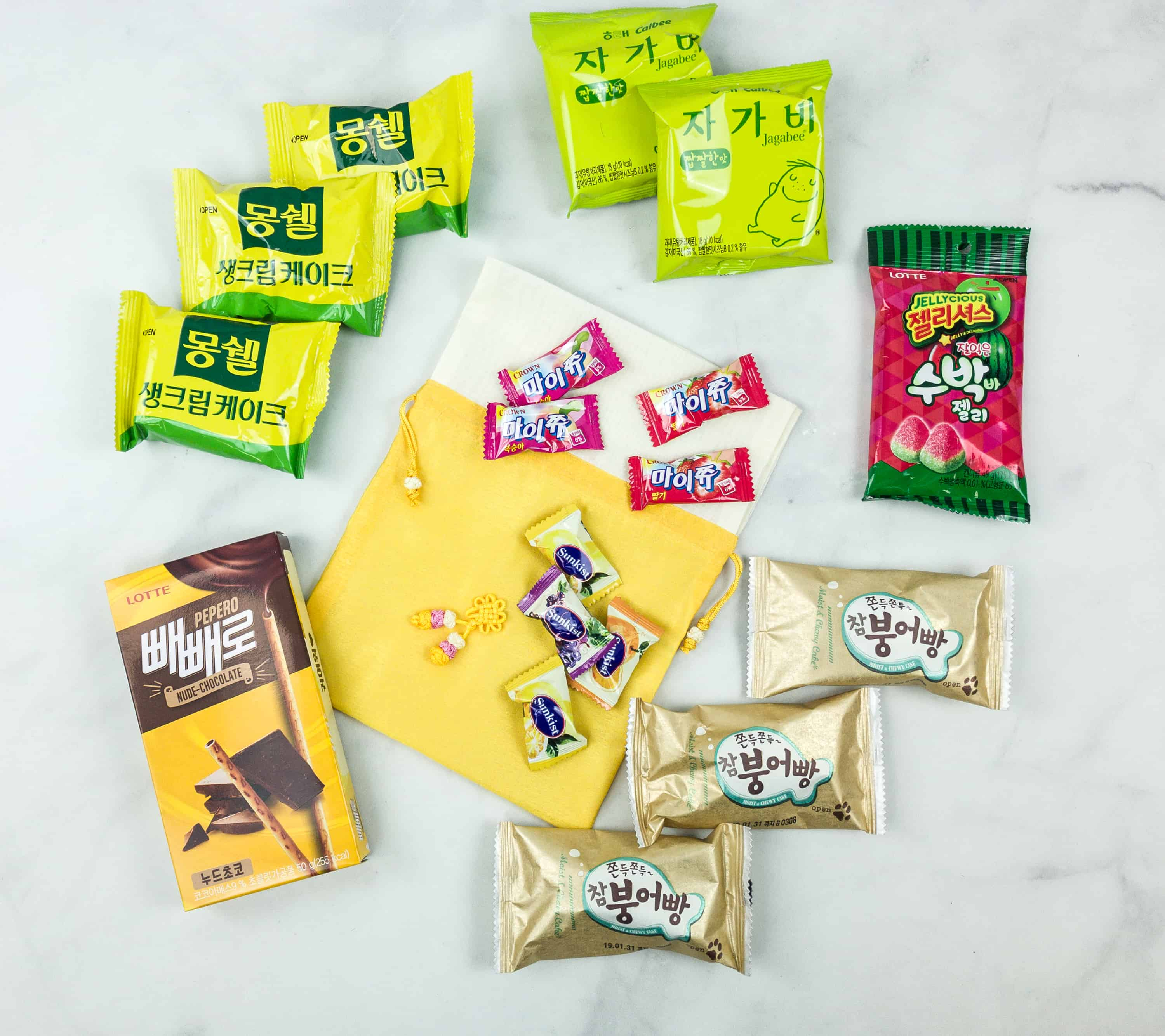 Korean Snack Box September 2018 Subscription Box Review + Coupon