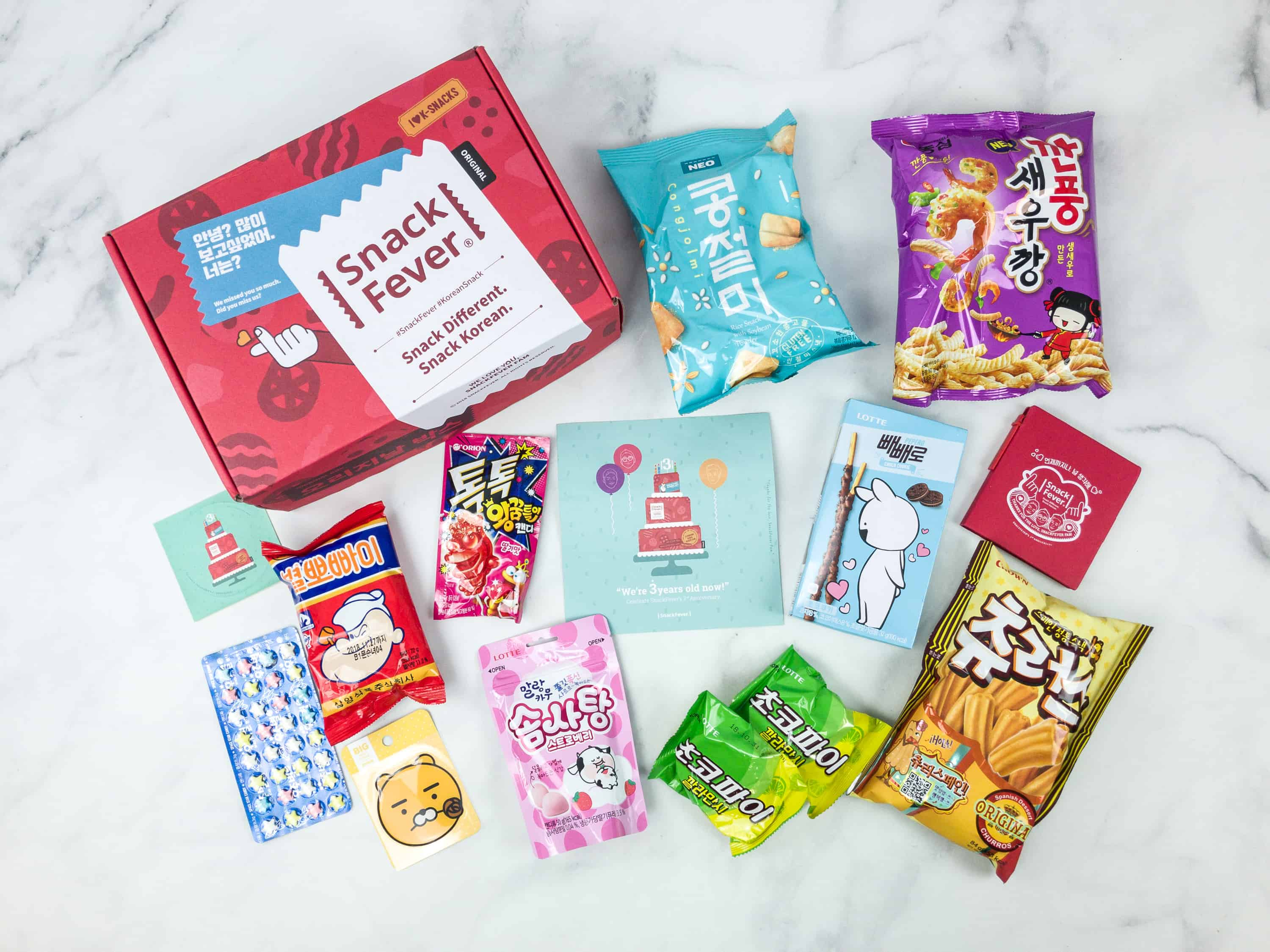 July 2018 Snack Fever Subscription Box Review + Coupon – Original Box