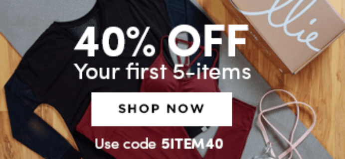 Ellie Flash Sale: Save 40% Off Your First 5-Item Box!