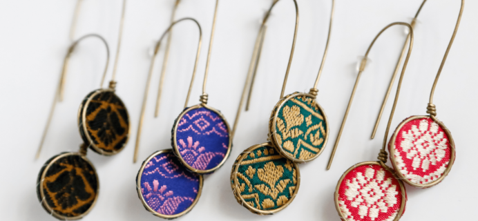 Fair Trade Friday Earring of the Month August 2018 Spoiler!