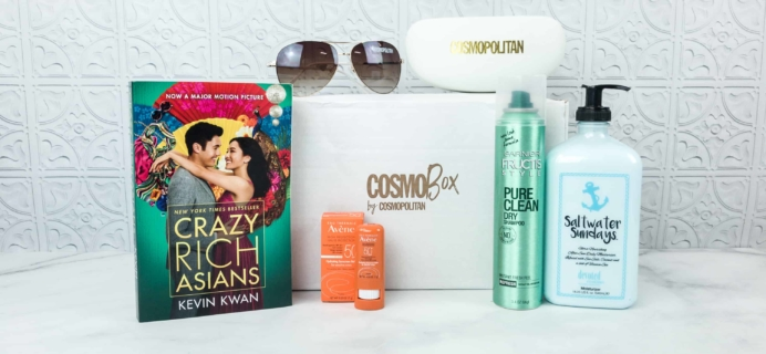 CosmoBox July-August 2018 Subscription Box Review