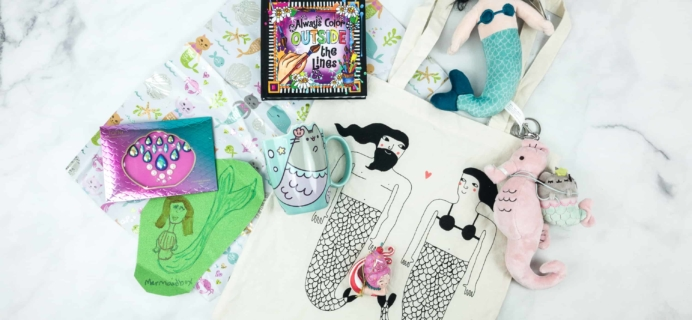 Mermaid Box August 2018 Subscription Box Review + Coupon