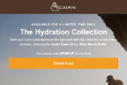 Cairn Coupon: Get The Hydration Collection As Your First Box!