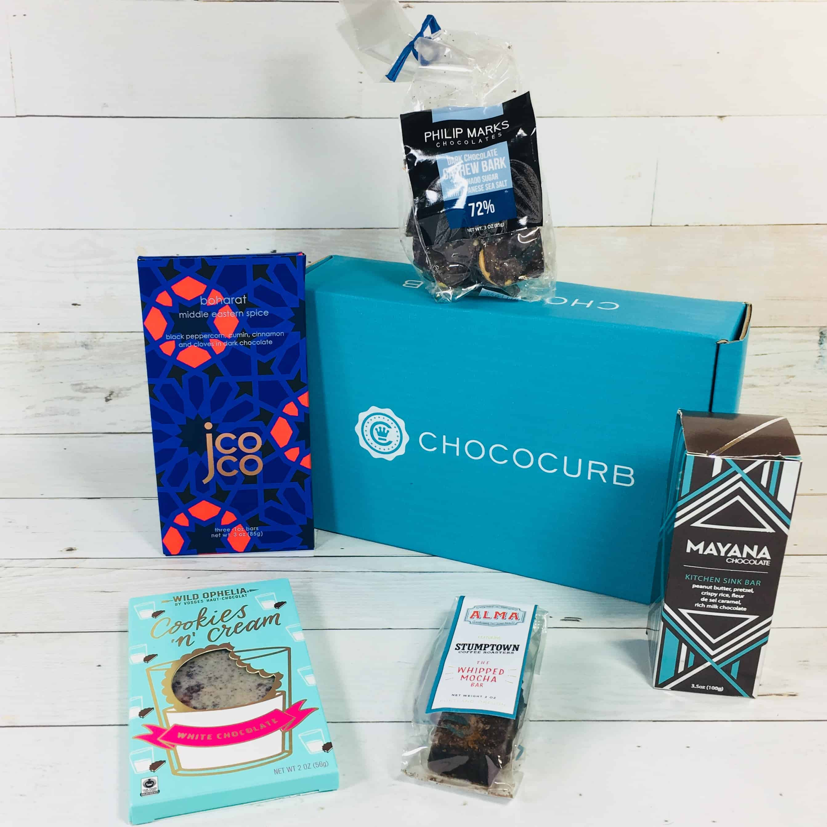 Chococurb Classic August 2018 Subscription Box Review