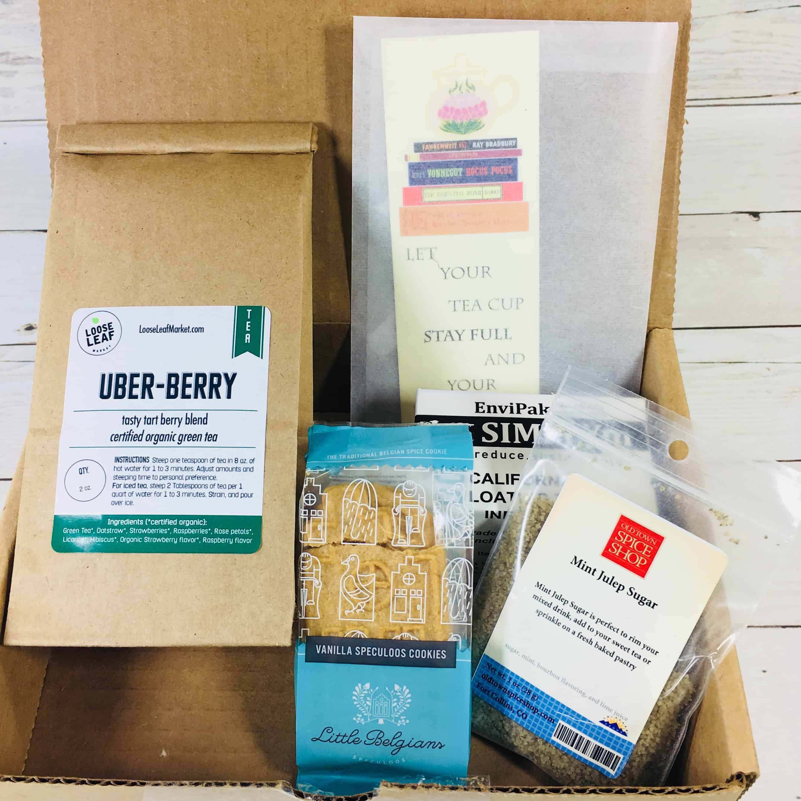 Tea Box Express August 2018 Subscription Review & Coupon