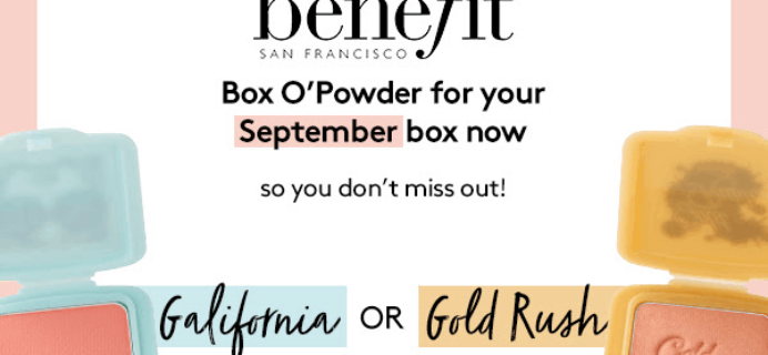 Birchbox UK September 2018 Spoiler + Coupon!