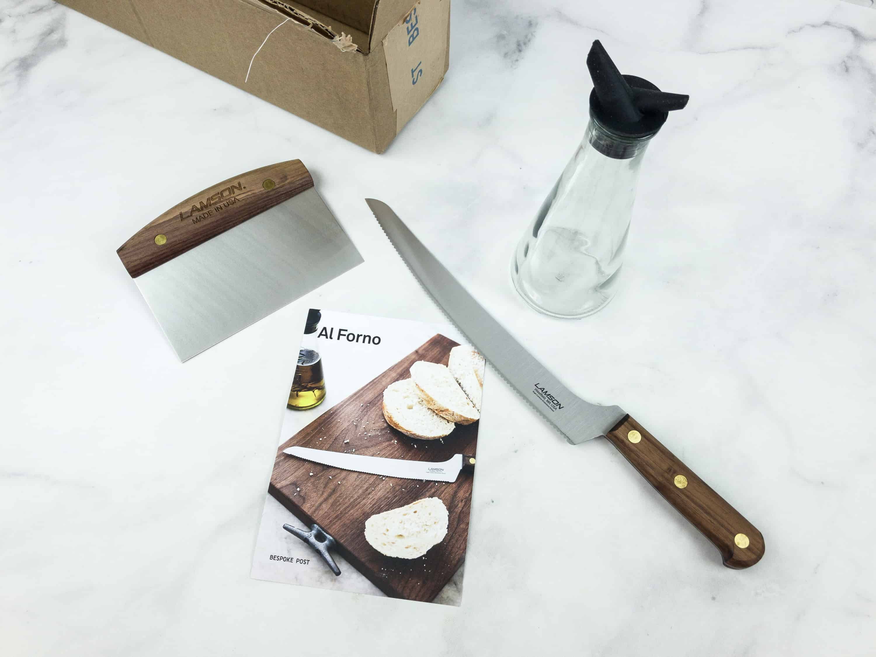 August 2018 Bespoke Post Box Review & Coupon – AL FORNO