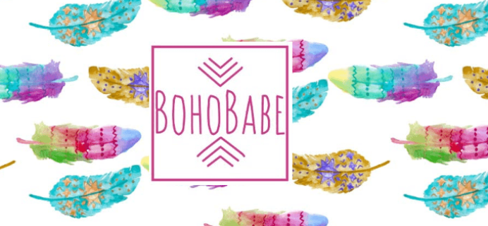 BohoBabe Box September 2018 Spoilers + Coupon!