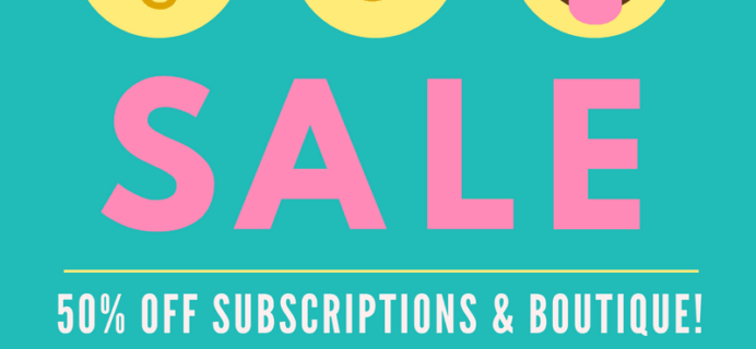 Your Bijoux Box Pre Labor Day Sale: Get 50% Off Sitewide! TODAY ONLY!