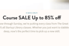 Craftsy Weekend Sale: Get Up To 85% Off The Great Courses!