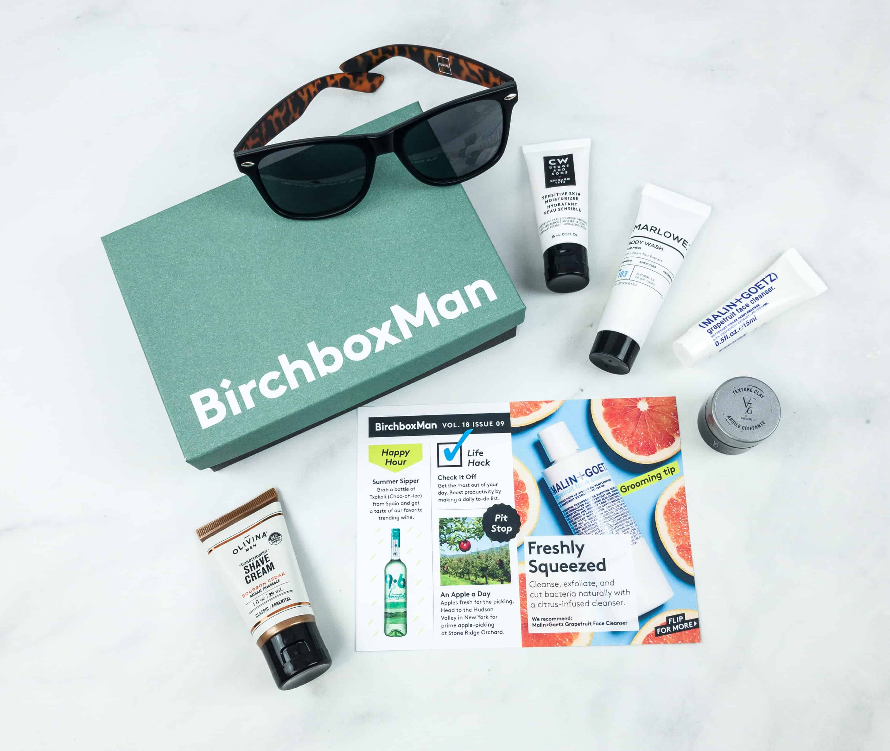 Birchbox Man September 2018 Subscription Box Review & Coupon